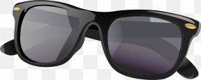 Vector Hand-painted Sunglasses - Goggles Sunglasses PNG