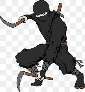 Japanese Ninja Bodyguard Warrior Picture - Teenage Mutant Ninja Turtles Samurai Shuriken PNG