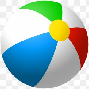 Inflatable Beach Ball Clip Art Image - Beach Ball Graphics Clip Art PNG