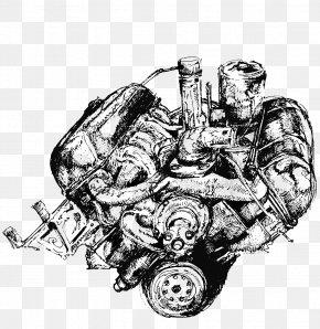 Automotive Engine Design - Car Automotive Engine Visual Arts PNG
