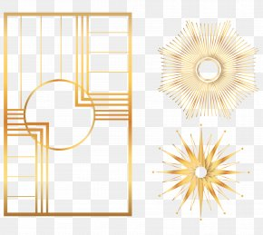 Gold Explosion Icon Vector - Icon PNG