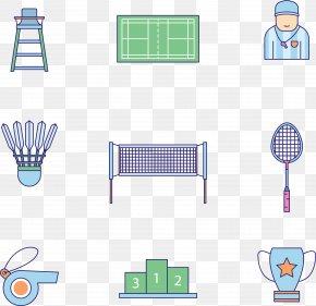 Badminton Competition - Badmintonracket Net PNG