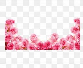 Pink Roses - Pink Rose Flower Flip-flops PNG