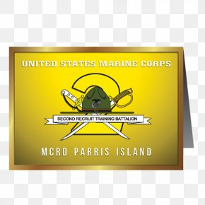 Graduation Card - Parris Island United States Marine Corps 2nd Recruit Training Battalion 2nd Battalion, 1st Marines PNG