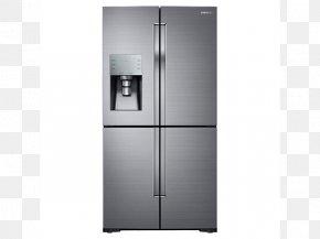 Refrigerator - Samsung RF28K9070S Refrigerator Home Appliance Whirlpool WRF535SMH PNG