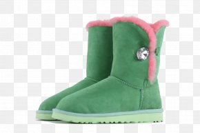 Green Snow Boots In Help - Snow Boot Shoe PNG