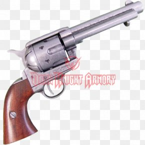 Handgun - Revolver Trigger Firearm Colt Single Action Army Pistol PNG