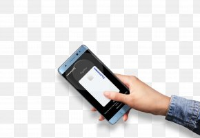 Hand Holding A Cell Phone - Smartphone Samsung Galaxy Note FE Samsung Galaxy Note 8 Samsung Galaxy Note 7 PNG