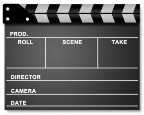 Movie Theatre - Cinema Clapperboard Film Director PNG