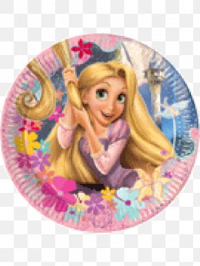 Minnie Mouse - Tangled Rapunzel Minnie Mouse Disney Princess Party PNG