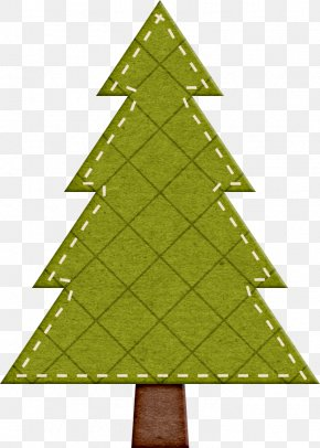 Clothes Decorated Christmas Tree Material - Christmas Gift Clip Art PNG