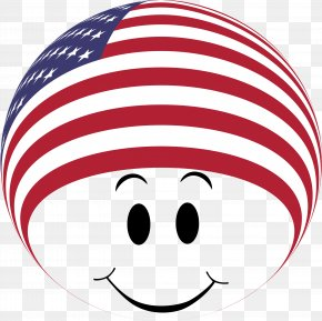 Smileys Flag - Clip Art Flag Of The United States Smiley Openclipart PNG