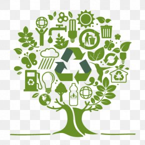 Ecology - Recycling Symbol Waste Reuse Recycling Bin PNG