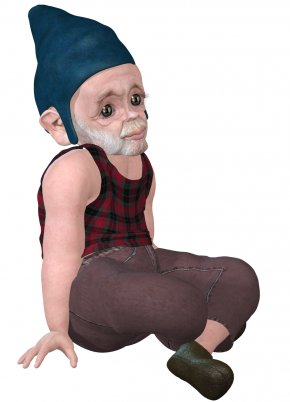 Dwarf - Headgear Costume PNG
