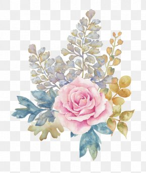 Pink Flowers Watercolor - Pink Flowers Pink Flowers PNG
