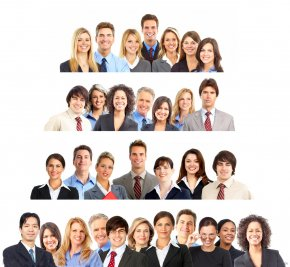A Group Of Business People - Generation X Millennials Baby Boomers Generation Z PNG