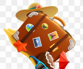 Suitcase - Kids Match For Toddlers Travel Beach Suitcase Icon PNG
