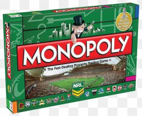 Game Moves - Monopoly Deal National Rugby League St. George Illawarra Dragons Manly Warringah Sea Eagles PNG