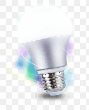 Light Bulb - Incandescent Light Bulb LED Lamp Lighting Compact Fluorescent Lamp PNG