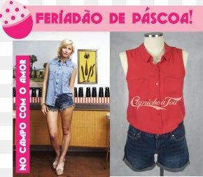 T-shirt - T-shirt Blouse Sleeveless Shirt Fashion Jeans PNG