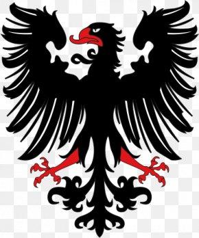 Eagle Black Logo Image, Free Download - Eagle Heraldry Coat Of Arms PNG