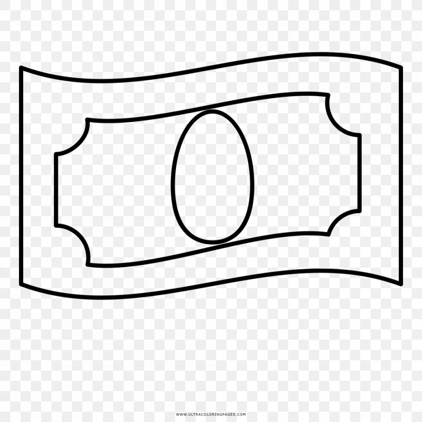 Coloring Book Drawing Black And White Ausmalbild Money Png