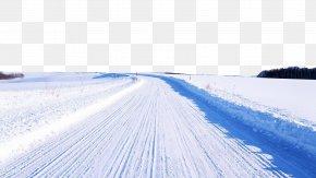 Snow Road - Macintosh Snow Road Snow Road Wallpaper PNG
