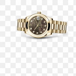 Rolex - Rolex Datejust Watch Gold Rolex Oyster Perpetual PNG