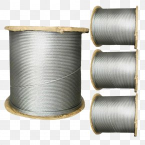 Bundled Wire Rope - Wire Rope Stainless Steel Washer PNG