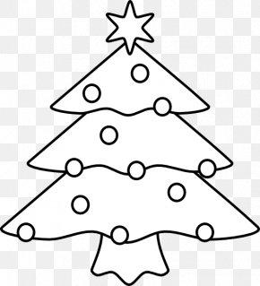 Back Ornaments - Christmas Tree White Christmas Santa Claus Clip Art PNG