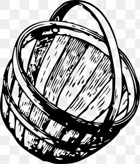 Basket Of Fruits And Vegetables Clipart - Picnic Baskets Clip Art PNG