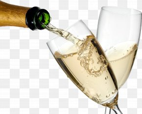 Champagne Glass - Champagne Prosecco Sparkling Wine Rosé PNG