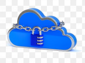3D Conceptual Model Of Cloud Digital Encryption System - Cloud Computing ICloud Data Icon PNG