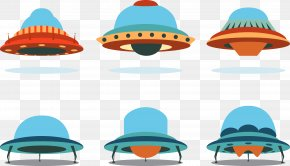 Ufo Blue Icon Vector - Euclidean Vector Icon PNG