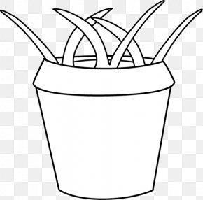 White Pot Cliparts - Flowerpot Drawing Clip Art PNG