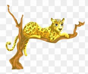 Leopard Vector - Leopard Cheetah Cat PNG