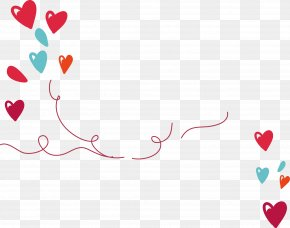 Love Ribbon - Heart Ribbon PNG