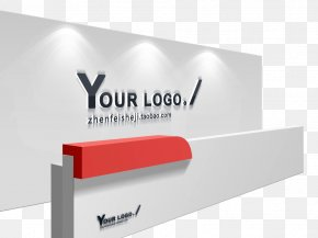Logo Wall Material - Logo Brand Poster Advertising PNG