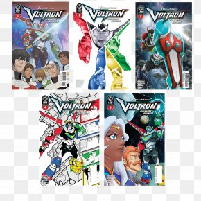 Legendary Defender Action & Toy Figures Comics CartoonCollectibles Poster Title - Voltron PNG