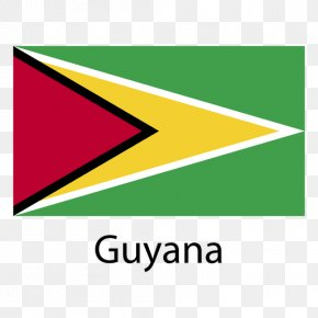 Flag - Flag Of Guyana National Flag Flags Of The World PNG
