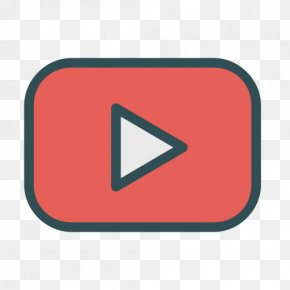 Social Media Icons 13 0 1 - YouTube Play Button Media Player PNG