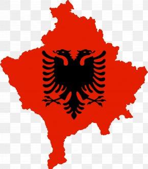Flag - Flag Of Albania National Flag National Anthem Of Albania PNG
