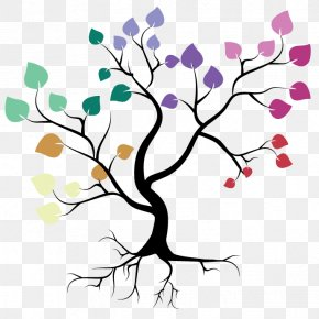 Color Decorative Tree - Royalty-free Clip Art PNG