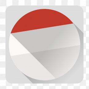 Calender - Circle Angle Red Font PNG