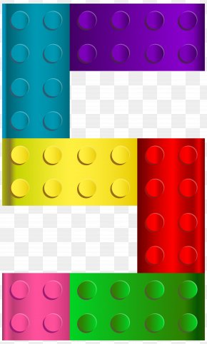 Lego Number Five Transparent Clip Art Image - Lego Serious Play Toy Block Clip Art PNG