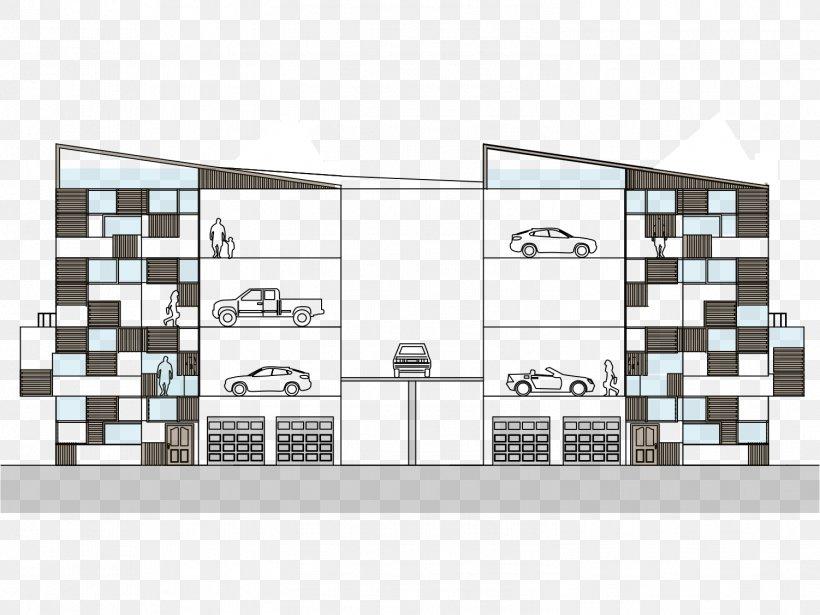 Car Park Floor Plan Elevator Building