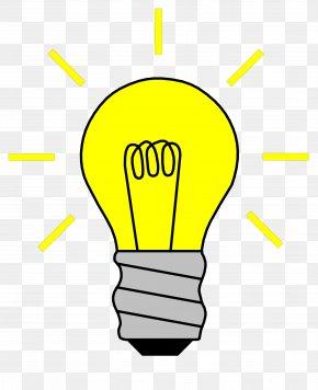 Derive Cliparts - Electricity Electric Current Incandescent Light Bulb Clip Art PNG