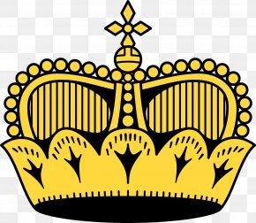 Crown - Flag Of Liechtenstein Flag Of Liechtenstein Map National Flag PNG