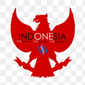 Indonesia Flag Hd - National Emblem Of Indonesia Logo Vector Graphics Image PNG