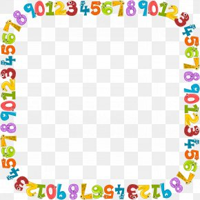 Numbers Frame - Clip Art Borders And Frames Decorative Borders Image Drawing PNG